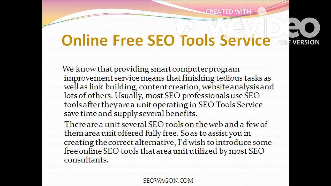 SEO Tools Service
