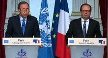 Déclaration conjointe avec M. Ban Ki Moon, Secrétaire Général des Nations unies