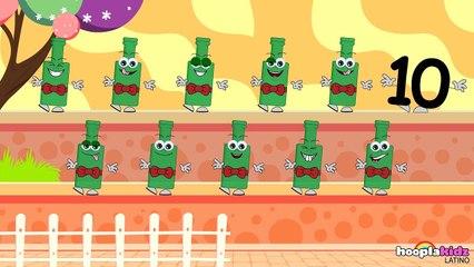 Ten Green Bottles - Diez Botellas Verdes