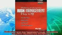 different   Making Enterprise Risk Management Pay Off How Leading Companies Implement Risk Management