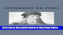 Download The Notebooks of Leonardo Da Vinci (Volume 2)  PDF Free