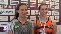 Mélina Robert-Michon & Pauline Pousse : « Un concours disputé »