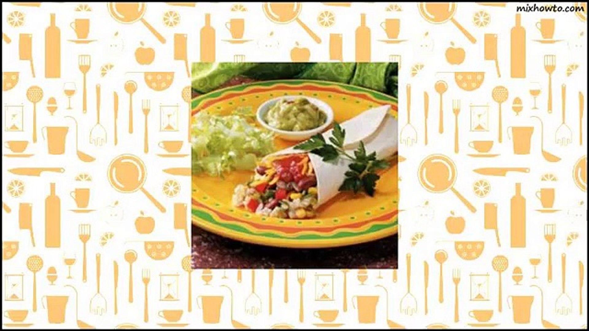Recipe Veggie Brown Rice Wraps Recipe