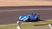 Morgan LMP2 Nissan Test Day 24 Heures du Mans 2014