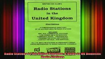 READ FREE FULL EBOOK DOWNLOAD  Radio Stations in the United Kingdom A Guide to UK Domestic Radio Stations Full Ebook Online Free