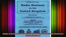 READ book  Radio Stations in the United Kingdom A Guide to UK Domestic Radio Stations Full Free