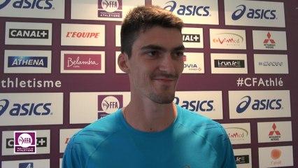 Bastien Auzeil : « J'ai pris beaucoup de plaisir »