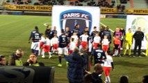 U10 Entrée avec joueurs ASNL/PARIS FC Stade Marcel Picot