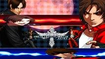 [Mugen - KOF] Kyo Kusanagi (Glasses) vs. Clone Blood Kyo (HELL)