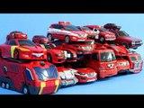헬로카봇 또봇 터닝메카드 미니특공대 레드색 자동차 장난감 18대 로봇 변신 동영상 HelloCarbot Tobot MiniForce Transformation car toys