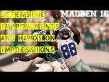 Madden NFL 16 Defensive Improvements and Hands On Impressions  | Madden 16 E3 Gameplay