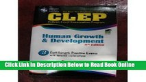 Read CLEP Human Growth and Development (REA) (CLEP Test Preparation) 8th (eighth) edition  Ebook