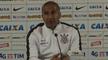 Cristóvão lamenta falhas, mas comemora primeira vitória no Corinthians: 'Fiquei satisfeito'