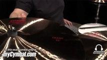 """Paiste 22"""" 2002 Crash Cymbal - Played by Abe Laboriel Jr. (1061422-1052413B)"""