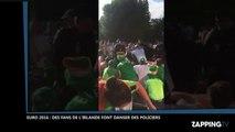 Euro 2016 : France-Irlande, des supporters irlandais font danser des policiers (Vidéo)