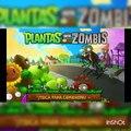 Jugando a los bolos /plants vs zombies