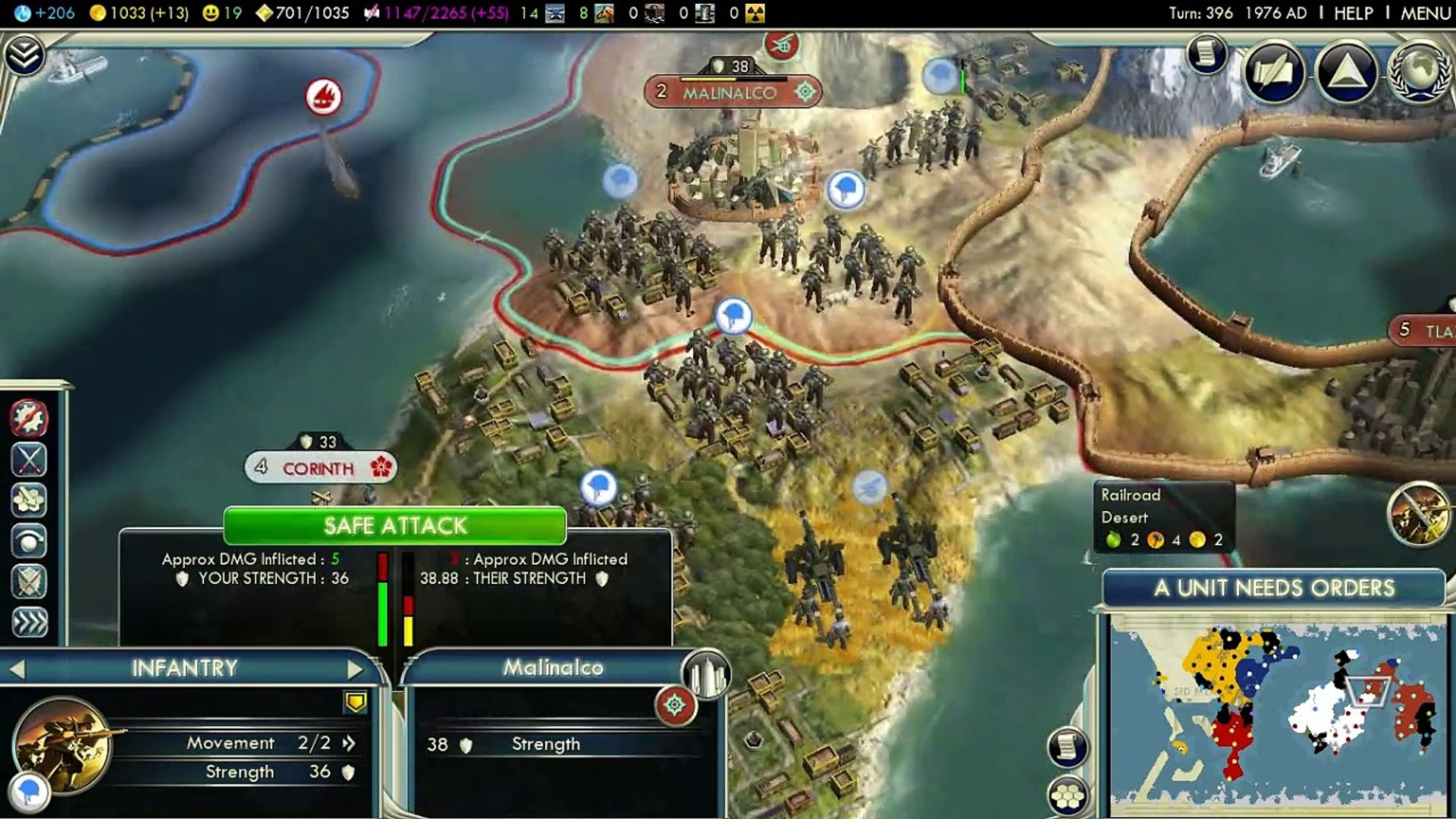 The True (and Accurate) History of Greece, Part 15: War and War (and War) - Civilization V (HD)