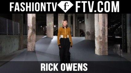 Paris Men Fashion Week Spring/Summer 2017 - Rick Owens   FTV.com