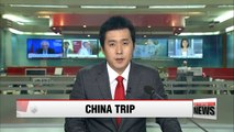 Prime Minister Hwang Kyo-ahn on five-day visit to China
