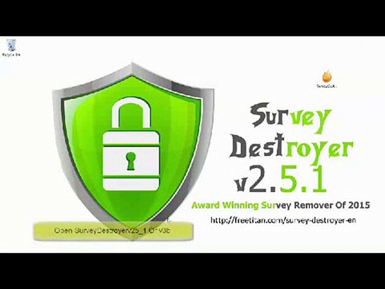 V2.5.1 TÉLÉCHARGER SURVEY DESTROYER