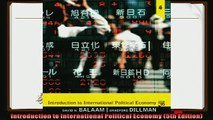 there is  Introduction to International Political Economy 5th Edition
