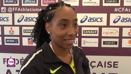 Jeanine Assani Issouf : « Je confirme ma progression »