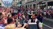 Demande en mariage d'un policier en pleine Gay Pride à Londres !