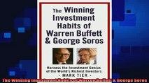 complete  The Winning Investment Habits of Warren Buffett  George Soros