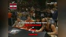 1998-06-30 WWF Raw Is War - #1 Contender Triple Threat - The Undertaker VS Kane VS Mankind (Mick Foley)