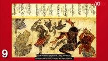 Dünyanın En Esrarengiz Ressamı 'İnsanlar ve Cinlerin Ustası' Mehmed Siyah Kalem'in 10 İlginç Çizimi