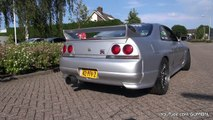 565HP Nissan Skyline GTR R33 V-Spec - Anti-Lag Sound!