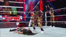 Funkadactyls vs. AJ Lee, Tamina Snuka, Alicia Fox & Aksana