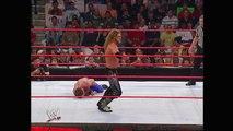 Edge vs. Chris Benoit: Raw, Nov. 8, 2004