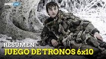 """Juego de tronos 6 - Reacción a """"Vientos de invierno"""" (GoT 6x10 """"The Winds of Winter"""")"""