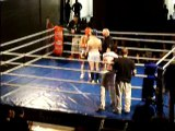 nicolas normand 15 ans prachao muay-thai 1er combat  VS luis 20 ans tba round 1
