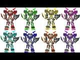 HelloCarbot Transformers 헬로카봇 장난감 펜타스톰 에이스 댄디 스카이 프론 엑시언트 컬러변신 변신로봇 변신자동차 동영상