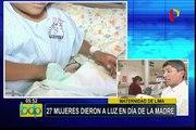Maternidad de Lima: 27 mujeres dieron a luz en el Día de la Madre