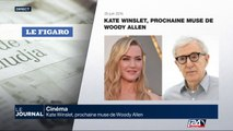 Cinéma: Kate Winslet, prochaine muse de Woody Allen