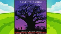behold  Calling Cards Uncover Your Calling