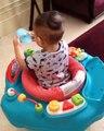 Senangnya Rafathar Malik Ahmad Naik Baby Walker Keliling Rumah l Raffi Ahmad & Nagita Slavina
