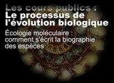 Ecologie moléculaire : comment s'écrit la biographie des espèces (cycle Le processus de l'évolution biologique)