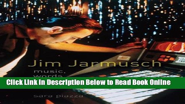 Read Jim Jarmusch: Music, Words and Noise  Ebook Online
