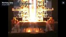 La Chine lance sa nouvelle fusée Longue Marche-7