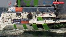 Solitaire Bompard-Le Figaro. 2e étape : en tête de course avec Gildas Morvan