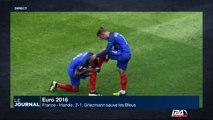 Euro 2016: Griezmann sauve les Bleus