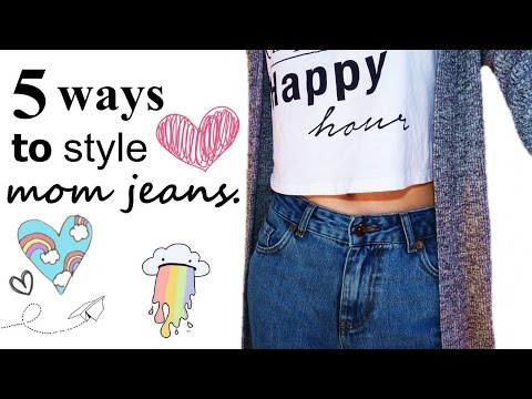 5 WAYS TO STYLE MOM JEANS. http://bit.ly/2zwnQ1x