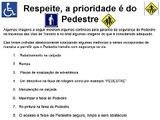 Respeito ao Pedestre 23