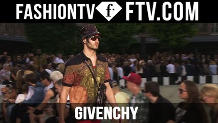 Paris Men Fashion Week Spring/Summer 2017 - Givenchy   FTV.com