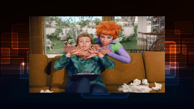 Watch Bewitched Se02 EP9
