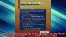 FREE DOWNLOAD  Community Health Nursing Promoting and Protecting the Publics Health COMMUNITY HEALTH  DOWNLOAD ONLINE